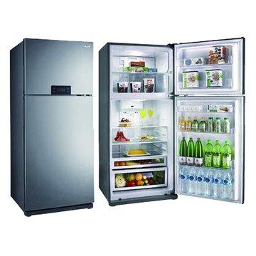 R5210S  520L雙門珍珠銀冰箱