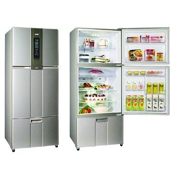SR-L53DV(G3) 525L三門變頻晶鑽灰電冰箱(福利品出清)