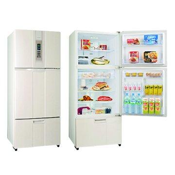 SR-L53DV(W3) 525L三門變頻珍珠白電冰箱(福利品出清)