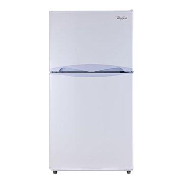 WMT2130W 130L 雙門白色冰箱(福利品出清)