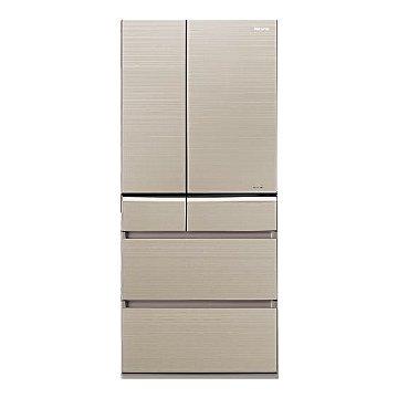 NR-F611VG-N1 608L六門變頻無邊框玻璃翡翠金日製冰箱 (福利品出清)