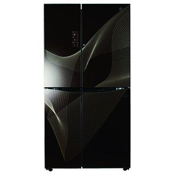 GR-D82R 800L門中門開變頻黑色冰箱(福利品出清)