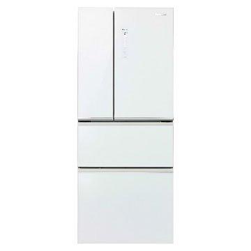 NR-D508NHG-W 500L四門變頻無框玻璃翡翠白冰箱