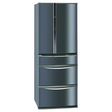 NR-F507TT-K1 501L六門變頻琉璃黑日製冰箱(福利品出清)