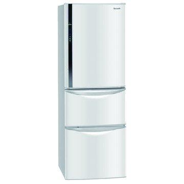 NR-C387HV-W 385L三門變頻冰雪白電冰箱