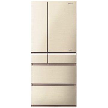 NR-F610VG-N1 608L六門變頻無框玻璃翡翠金日製冰箱  (福利品出清)