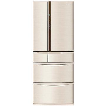 NR-F560VT-N1 555L六門變頻無邊框香檳金日製冰箱(福利品出清)