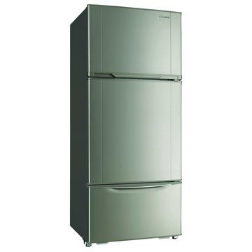SR-528CV7(T) 528L三門鋼灰色冰箱(福利品出清)