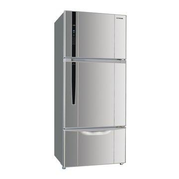 SR-A528CV3(J) 528L三門變頻珍珠銀冰箱(福利品出清)
