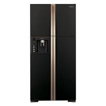 RG616(GBK) 594L四門對開變頻冰箱(琉璃黑)