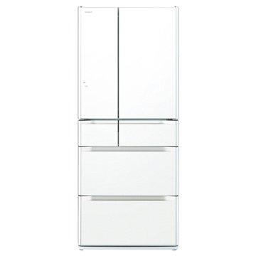 R-SF6200E(XW) 620L六門變頻琉璃白日製冰箱(福利品出清)