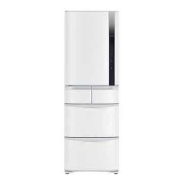 R-S42FJL(W) 420L五門變頻左開星燦白冰箱