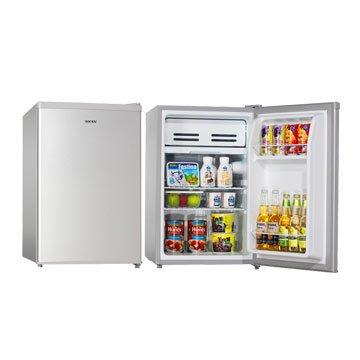 HRE-0711 75L單門銀色左右開冰箱(福利品出清)