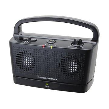 audio-technica 鐵三角 鐵三角數位無線喇叭SP767TV黑 攜帶式