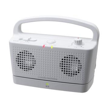 audio-technica 鐵三角 鐵三角數位無線喇叭SP767TV白 攜帶式