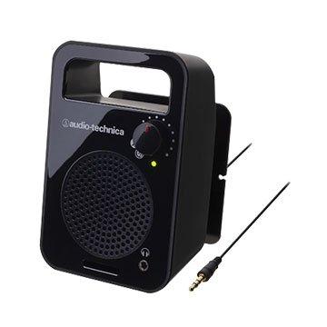 audio-technica 鐵三角 鐵三角單聲道主動喇叭MSP56TV黑