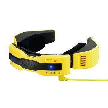 G2TN1Plus穿戴式溫控圍巾(活力黃/S)