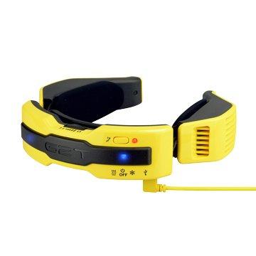 G2TN1Plus穿戴式溫控圍巾(活力黃/L)