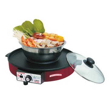 SM-968 火烤兩用烹飪爐(福利品出清)