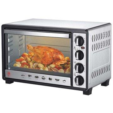 JK-7300 30L雙溫控不鏽鋼旋風烤箱