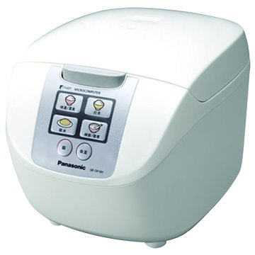Panasonic  國際牌 10人份 微電腦電子鍋 SR-DF181 白色