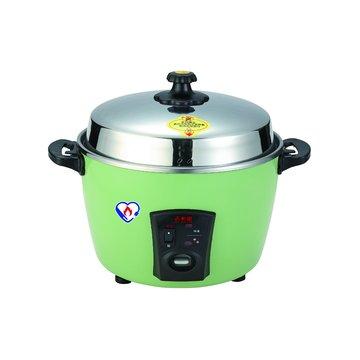 11人份 不鏽鋼電鍋 HF-8857 綠色(福利品出清)