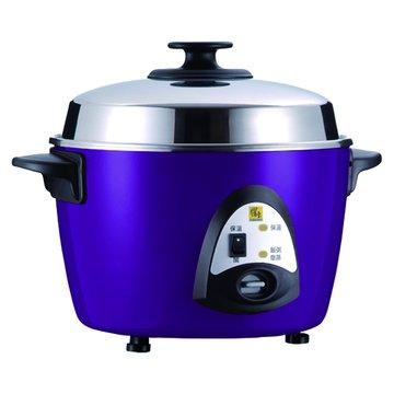 10人份 不鏽鋼電鍋 ER-1016 紫色(福利品出清)