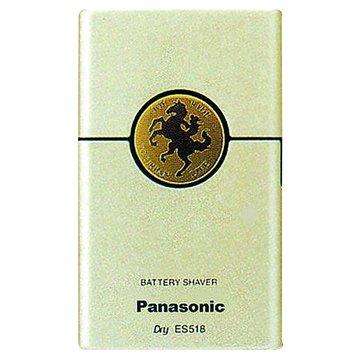 Panasonic  國際牌 ES-518-NP 卡片型電池式刮鬍刀