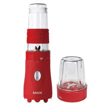 SANOE 思樂誼 B102 隨行杯果汁機(附研磨杯)-紅色
