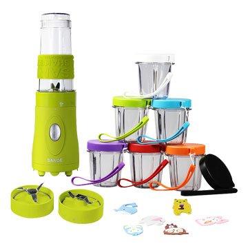 SANOE 思樂誼 B103 寶寶調理機-綠色