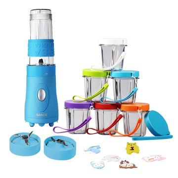 SANOE 思樂誼 B103 寶寶調理機-藍色