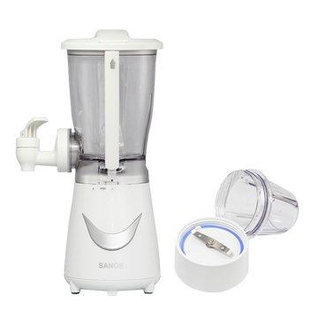 SANOE 思樂誼 B24 生機健康果汁機(附研磨杯)-白色