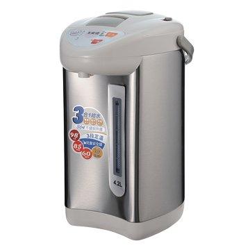 大家源  TCY-2024 4.2L3段定溫3合1給水熱水瓶