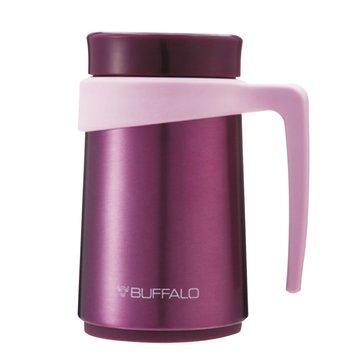 牛頭牌FREEⅡ350cc防燙保溫辦公杯(紫色)(福利品出清)