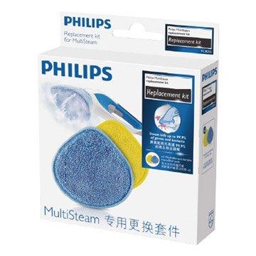 PHILIPS 飛利浦 FC8055/01 蒸乾淨除油垢機專用配件-纖維清潔墊(2入)