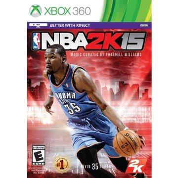 XBOX360 NBA 2K15 中英合版