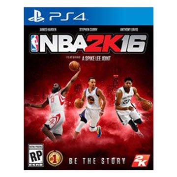 2K Sports  PS4 NBA 2K16 中英文合版