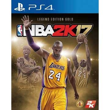 PS4 NBA 2K17 黃金傳奇珍藏版 中英文合版