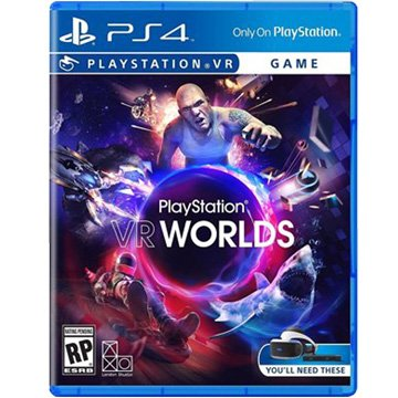 PS4 PlayStation VR WORLDS 中文 (VR專用)