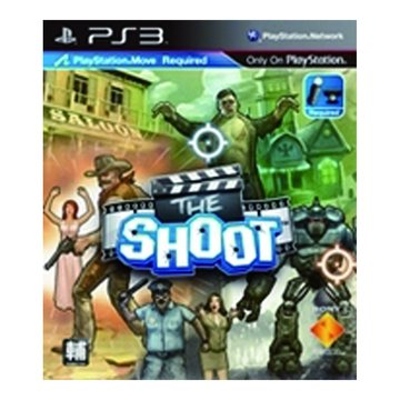 SONY 新力牌 PS3 槍戰開麥拉 MOVE軟體 中文版