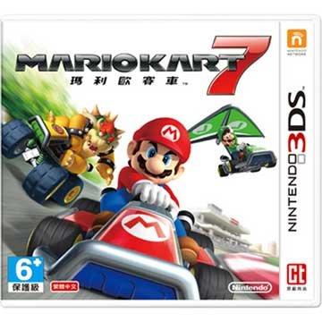 Nintendo 任天堂 3DS 瑪利歐賽車 7 中文版 (中文機專用)