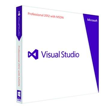 Visual Studio 專業 2012 MSDN Retail 英文