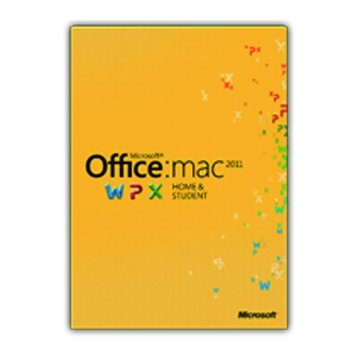 Microsoft Office Mac 2011 家用中文版-1PC