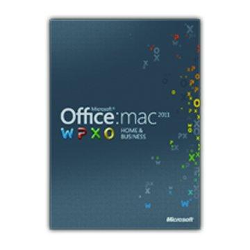Microsoft Office Mac 2011 家用暨中小企業中文版 1 PC(無光碟)