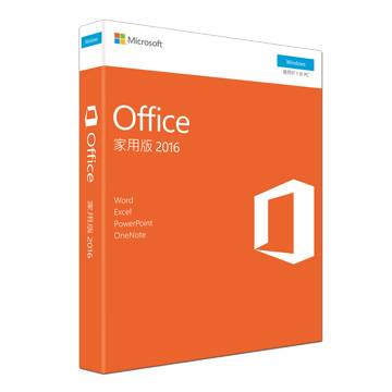 Microsoft 微軟 Office 2016 家用版 PKC