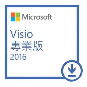 Microsoft 微軟 Visio 專業版 2016-數位下載版