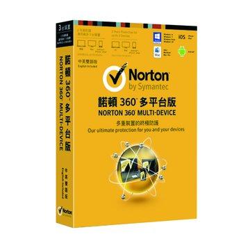 諾頓360 中英雙語3人2年多平台版