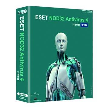 NOD32 防毒 單機1年版(4.0)