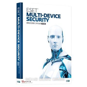 ESET NOD32  ESET 網路安全套裝 3台3年多平台中文版