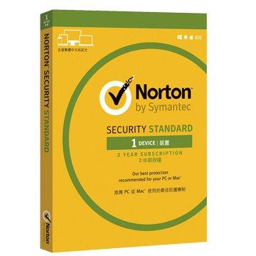 symantec 賽門鐵克 諾頓網路安全-入門版(Standard)-1台裝置2年